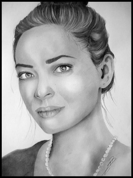 Kristin Kreuk by AnyaMax